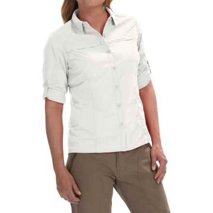 Craghoppers Kiwi Pro Lite Shirt - UPF 40+, Long Sleeve (For Women) in White - Closeouts
