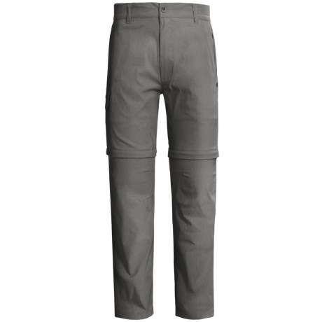 Craghoppers Kiwi Pro Stretch Convertible Trouser Pants - UPF 40+ (For Men) in Ashen