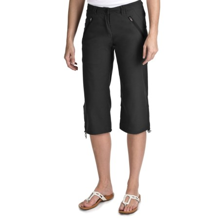 Craghoppers Kiwi Pro Stretch Crop Pants - UPF 40 (For Women) in Black