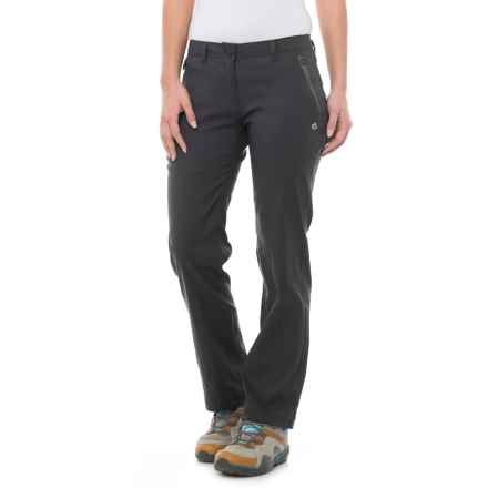 Craghoppers Kiwi Pro Stretch Pants - UPF 40+ (For Women) in Black - Closeouts