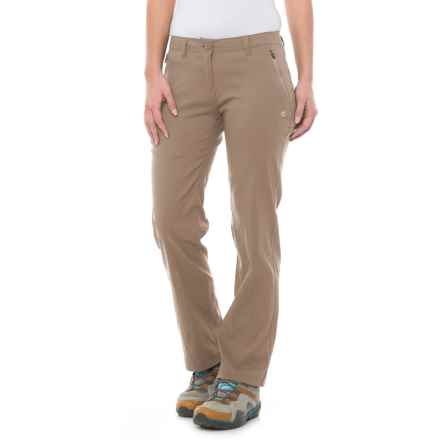 Craghoppers Kiwi Pro Stretch Pants - UPF 40+ (For Women) in Mushroom - Closeouts