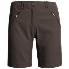 Craghoppers Kiwi Pro Stretch Shorts - UPF 40 (For Women) in Cocoa - Closeouts