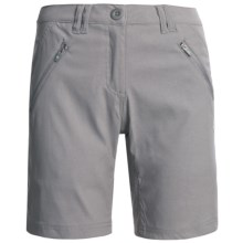 Craghoppers Kiwi Pro Stretch Shorts - UPF 40 (For Women) in Platinum - Closeouts