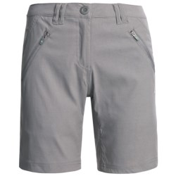 Craghoppers Kiwi Pro Stretch Shorts - UPF 40 (For Women) in Platinum