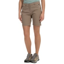 Craghoppers Kiwi Pro Stretch Shorts - UPF 40+ (For Women) in Mushroom - Closeouts
