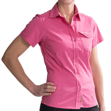 Craghoppers Kiwi Shirt - UPF 40+, Short Sleeve (For Women) in Hot Pink