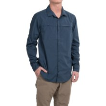 Craghoppers Kiwi Trek Shirt - UPF 40+, Long Sleeve (For Men) in Faded Indigo - Closeouts
