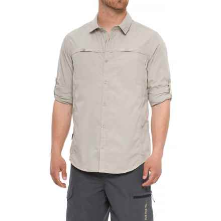 Craghoppers Kiwi Trek Shirt - UPF 40+, Long Sleeve (For Men) in Parchment - Closeouts