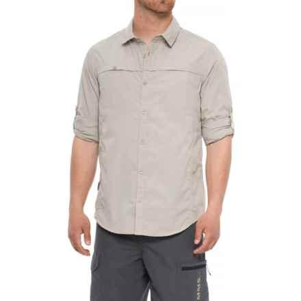 Craghoppers Kiwi Trek Shirt - UPF 40+, Long Sleeve (For Men) in Parchment - Closeouts