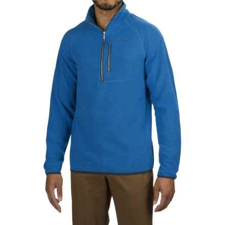 Craghoppers Liston Zip Neck Fleece Jacket (For Men) in Deep China Blue - Closeouts