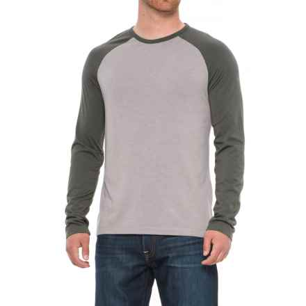 Craghoppers Loki T-Shirt - Crew Neck, Long Sleeve (For Men) in Quarry Grey Marl - Closeouts