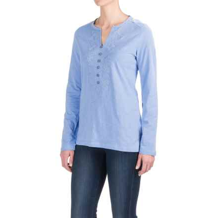 Craghoppers Loxley Tunic Shirt - UPF 40+, Long Sleeve (For Women) in Powder Blue - Closeouts