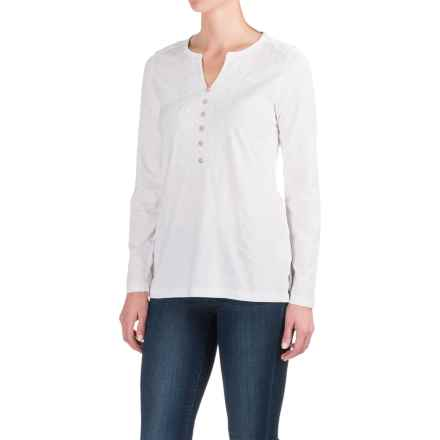 Craghoppers Loxley Tunic Shirt - UPF 40+, Long Sleeve (For Women) in White - Closeouts