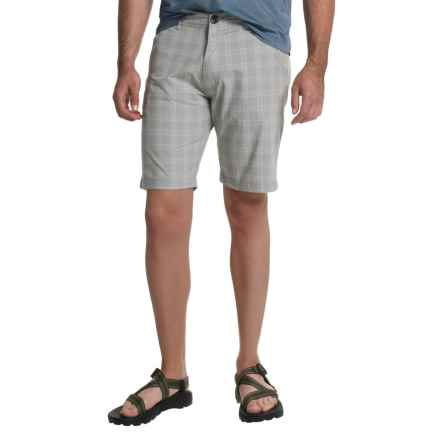Craghoppers Mathis Shorts (For Men) in Quarry Grey Check - Closeouts
