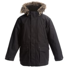 Craghoppers Mayman Jacket - Waterproof, Insulated (For Little and Big Boys) in Black Pepper - Closeouts