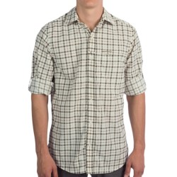Craghoppers Miguel Shirt - UPF 40+, Insect Shield®, Long Sleeve (For Men) in Bamboo Combo