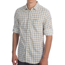 Craghoppers Miguel Shirt - UPF 40+, Insect Shield®, Long Sleeve (For Men) in Granite Comb - Closeouts