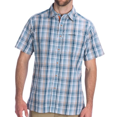 Craghoppers Milagro Shirt - Short Sleeve (For Men) in Faded Indigo