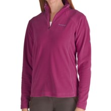 Craghoppers Miska Microfleece Pullover Shirt - Zip Neck, Long Sleeve (For Women) in Fuschia - Closeouts