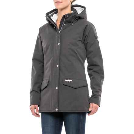 Craghoppers NatGeo 250 Jacket - Waterproof, Insulated (For Women) in Charcoal - Closeouts