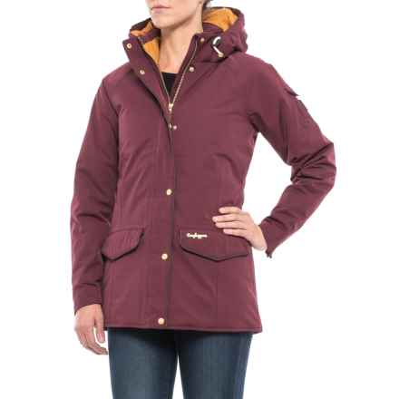 Craghoppers NatGeo 250 Jacket - Waterproof, Insulated (For Women) in Dark Rioja Red - Closeouts