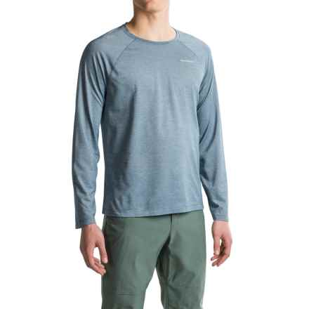 Craghoppers NatGeo Insect Shield® Goddard T-Shirt - Crew Neck, Long Sleeve (For Men) in Light Dusk Blue Marl - Closeouts