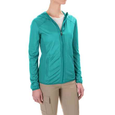 Craghoppers NatGeo® Insect Shield® NosiLife® Asmina Jacket - UPF 40+ (For Women) in Bright Turquoise - Closeouts