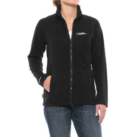 Craghoppers National Geographic Kiwi Fleece Jacket (For Women) in Black - Closeouts