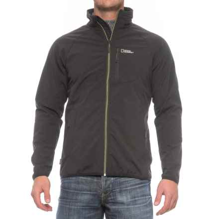 Craghoppers National Geographic ProLite Soft Shell Jacket (For Men) in Black - Closeouts
