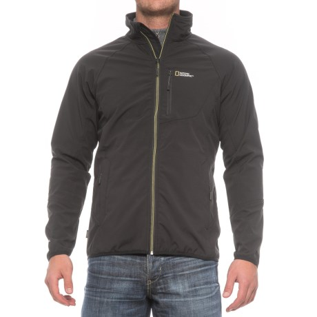 Craghoppers National Geographic ProLite Soft Shell Jacket (For Men) in Black