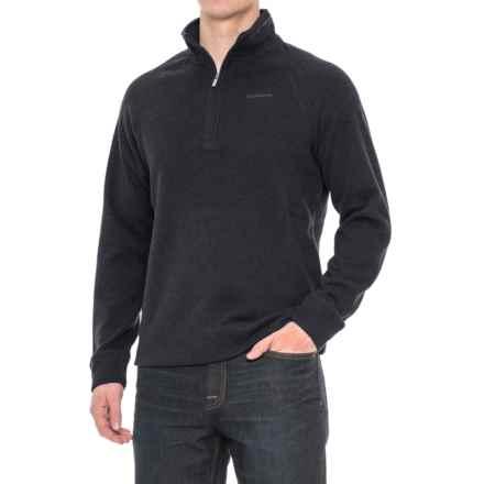 Craghoppers Norton Fleece Sweater - Zip Neck (For Men) in Dark Navy Marl - Closeouts