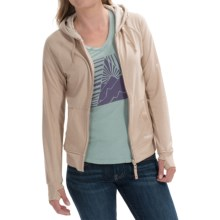 Craghoppers NosiLife Adanya Hoodie - UPF 40+, Insect Shield® (For Women) in Almond Marl - Closeouts