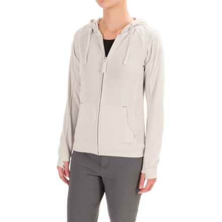 Craghoppers NosiLife Adanya Hoodie - UPF 40+, Insect Shield® (For Women) in Dove Grey Marl - Closeouts