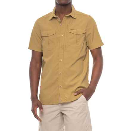 Craghoppers NosiLife® Adventure Shirt - UPF 40, Short Sleeve (For Men) in Light Olive - Closeouts