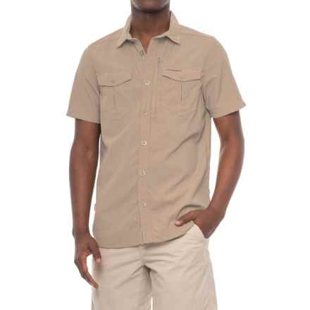 Craghoppers NosiLife® Adventure Shirt - UPF 40, Short Sleeve (For Men) in Parchment - Closeouts