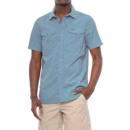 Craghoppers NosiLife® Adventure Shirt - UPF 40, Short Sleeve (For Men) in Smoke Blue - Closeouts