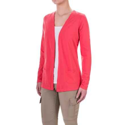 Craghoppers NosiLife® Astrid Insect Shield® Cardigan Shirt - Long sleeve (For Women) in Watermelon - Closeouts