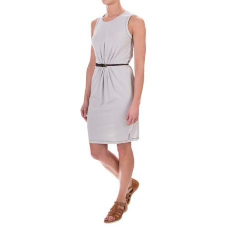 Craghoppers NosiLife® Astrid Insect Shield® Dress - Sleeveless (For Women) in Dove Grey Marl