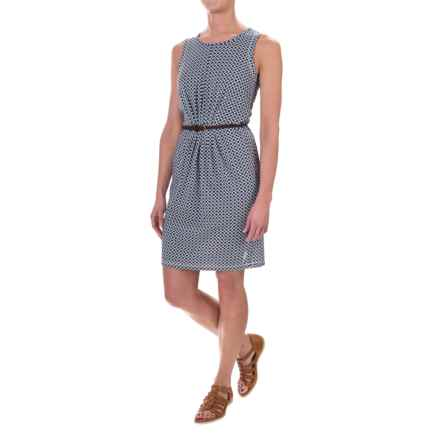 Craghoppers NosiLife® Astrid Insect Shield® Dress - Sleeveless (For Women) in Soft Navy Comb - Closeouts