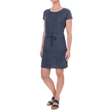 Craghoppers NosiLife® Bailly Insect Shield® Dress - Short Sleeve (For Women) in Soft Navy Marl - Closeouts