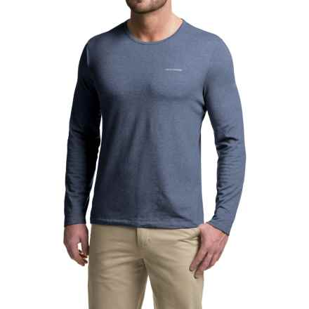Craghoppers NosiLife® Base T-Shirt - UPF 40+, Long Sleeve (For Men) in Faded Indigo Marl - Closeouts