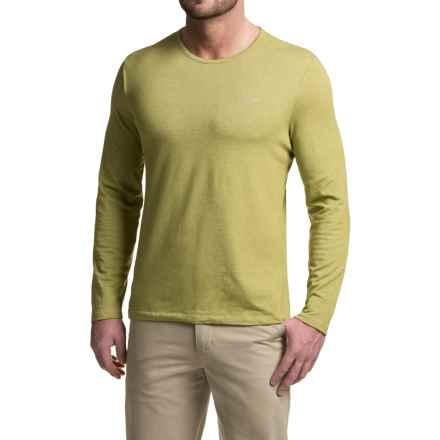 Craghoppers NosiLife® Base T-Shirt - UPF 40+, Long Sleeve (For Men) in Palm Green - Closeouts