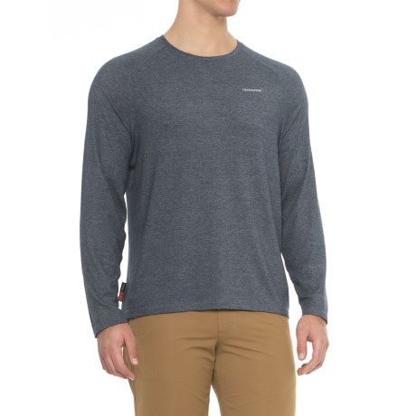Craghoppers NosiLife Bayame Shirt - UPF 40+, Insect Shield®, Long Sleeve (For Men) in Soft Navy Marl