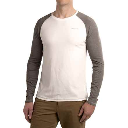 Craghoppers NosiLife® Bayame Shirt - UPF 40+, Long Sleeve (For Men) in White/Quarry Gray - Closeouts