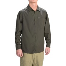 Craghoppers NosiLife Belay Shirt - UPF 40+, Long Sleeve (For Men) in Dk Khaki - Closeouts