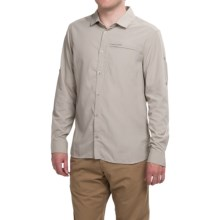 Craghoppers NosiLife Belay Shirt - UPF 40+, Long Sleeve (For Men) in Parchment - Closeouts
