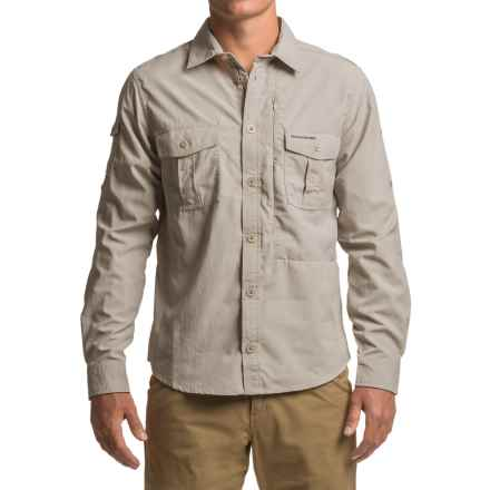 Craghoppers NosiLife® Button-Down Shirt - UPF 40+, Long Sleeve (For Men) in Parchment - Closeouts