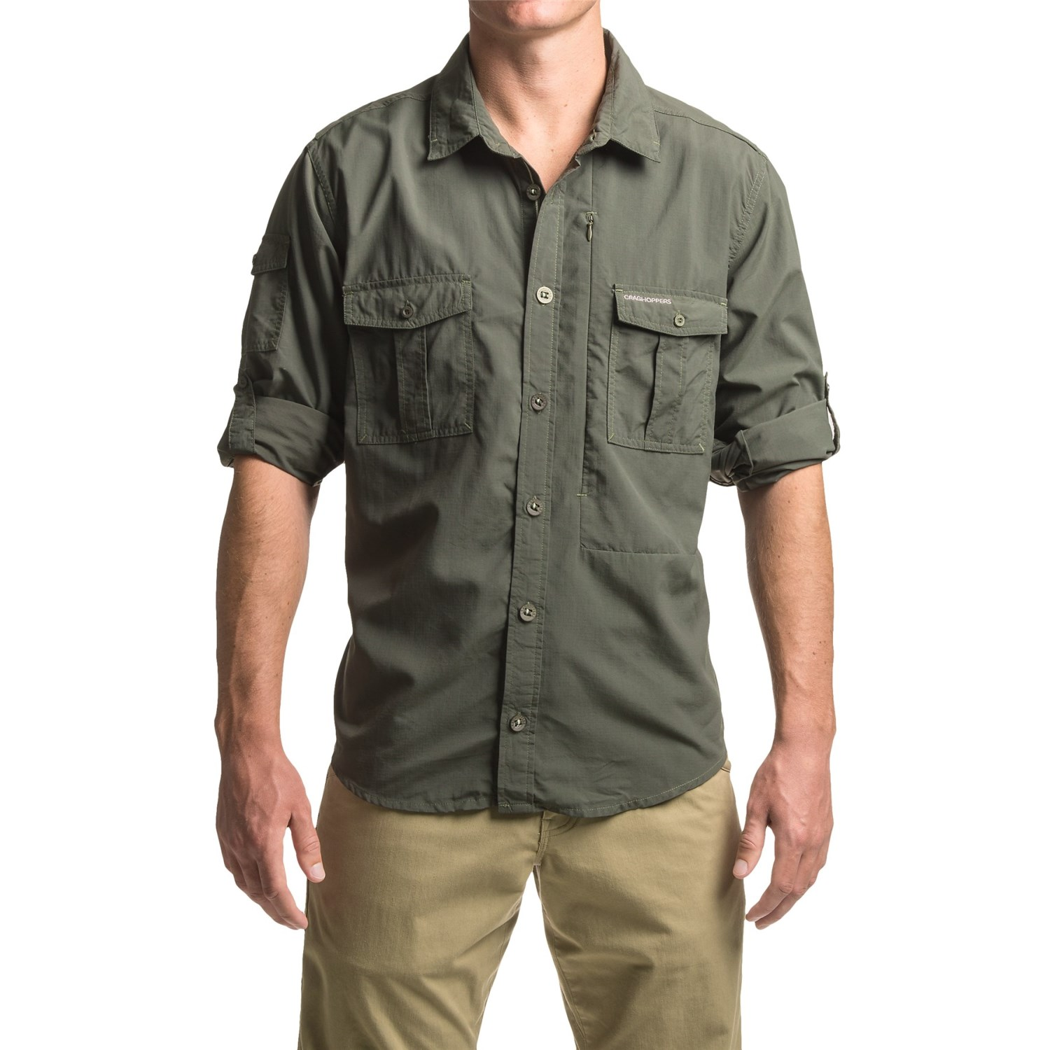 Craghoppers nosilife button down shirt for men save 58 for Men s down shirt