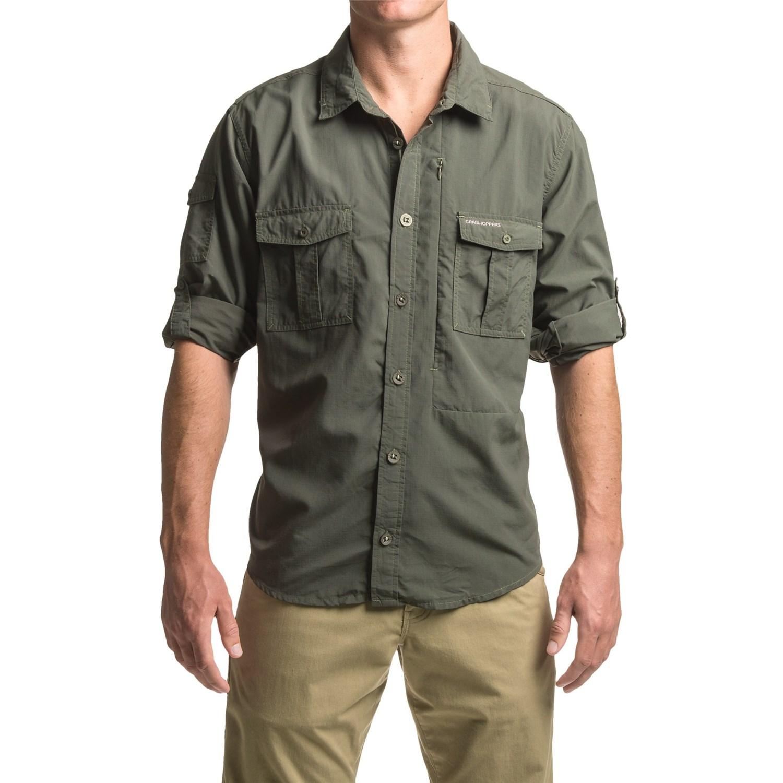 Craghoppers Nosilife Button Down Shirt For Men Save 58