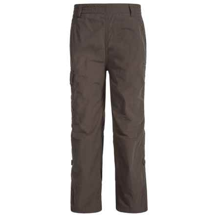 Craghoppers NosiLife® Cargo Pants - UPF 40+ (For Little and Big Boys) in Black Pepper - Closeouts